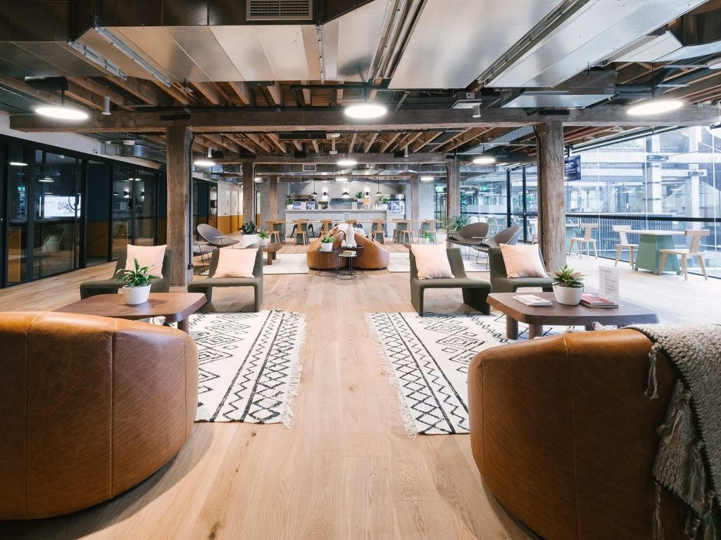 coworking space at wework pyrmont in sydney