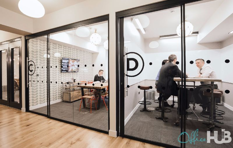 collaboration in wework office space