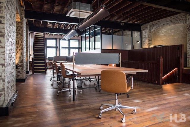 warehouse style coworking space in surry hills by muse
