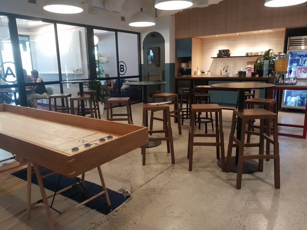 kitchen at sydney wework