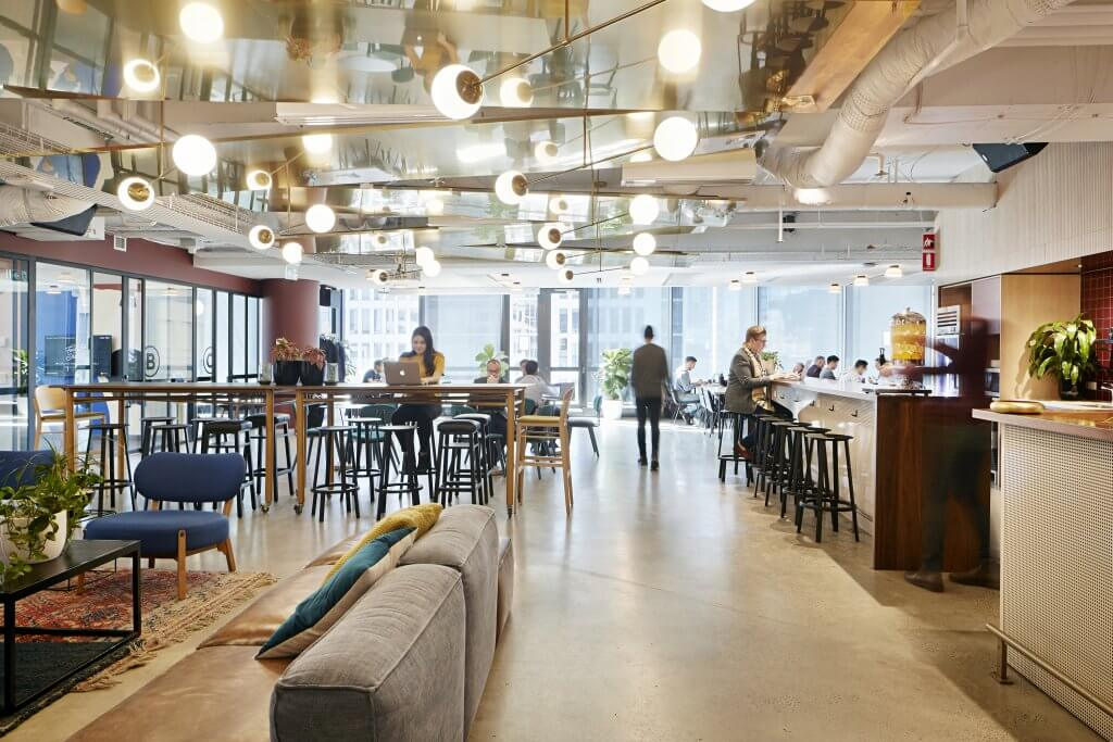 wework coworking space at 333 george street sydney