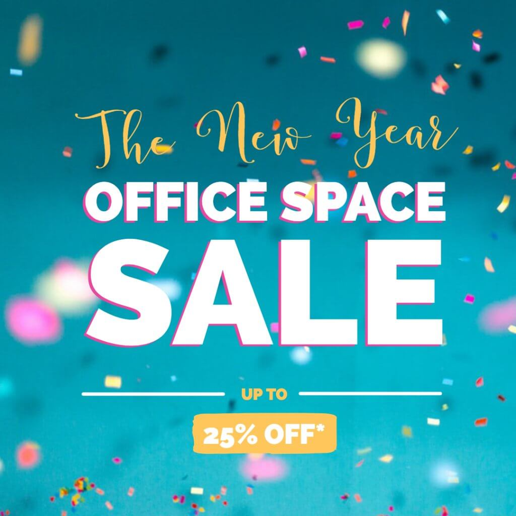 the New Year Office Space Sale