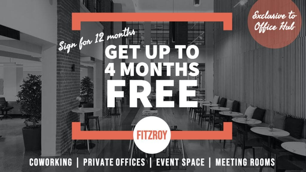 coworking space for rent in fitzroy